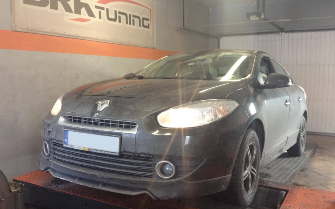 Renault Fluence 1.5 DCI chiptuning