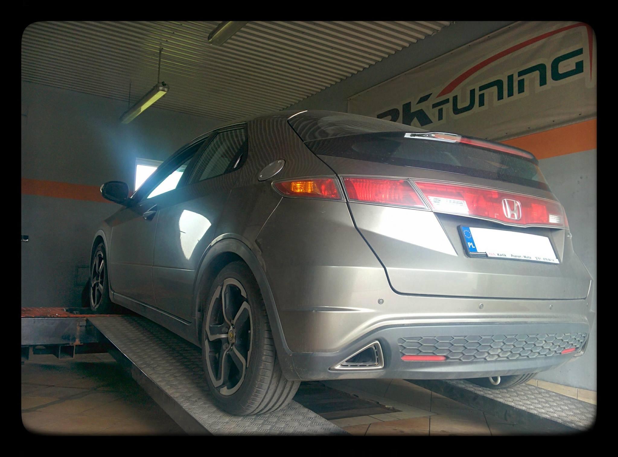 Honda Civic - diagnozujemy samochód na hamowni obciążeniowej