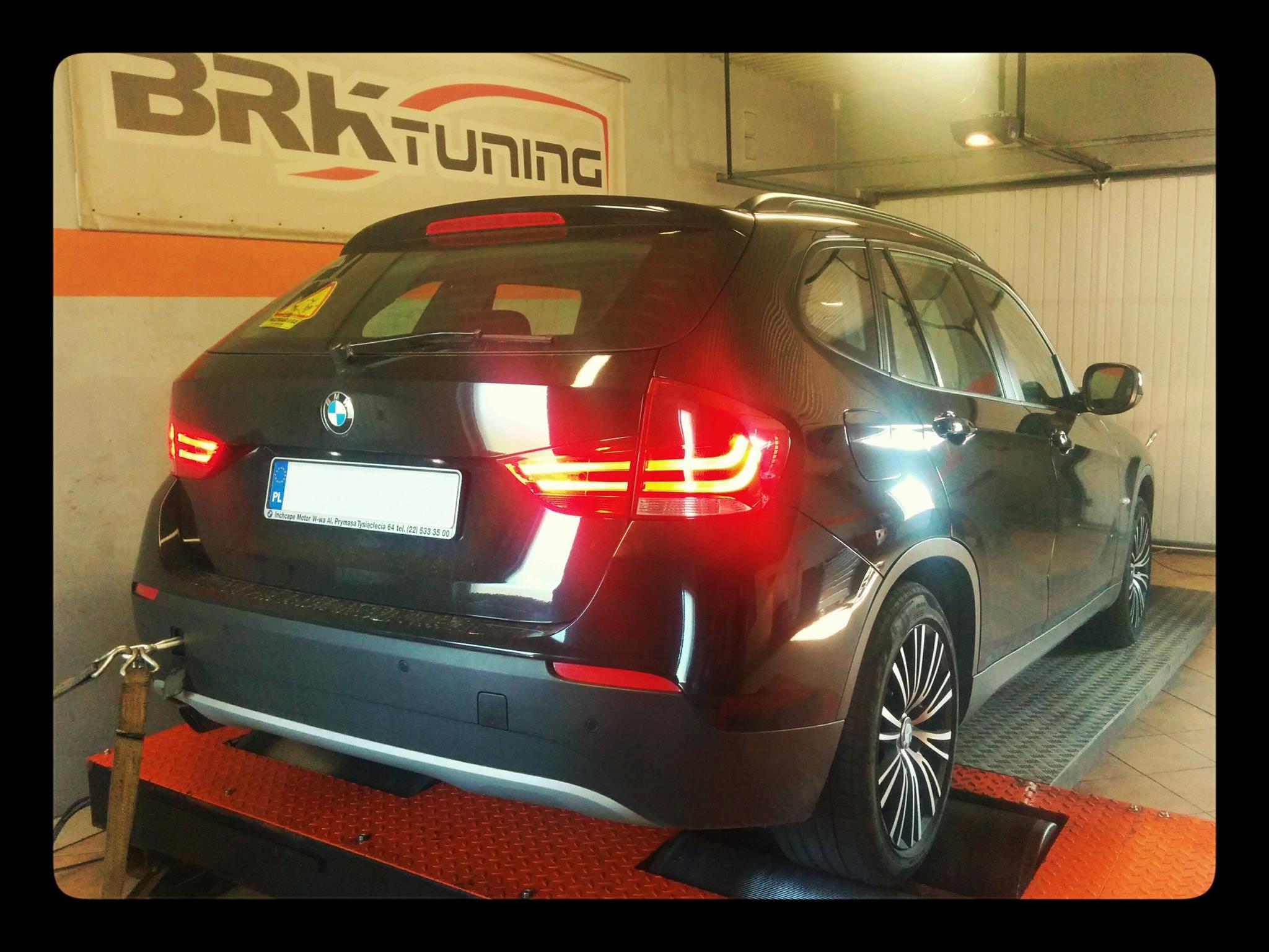 BMW X1 - diagnozujemy samochód na hamowni obciążeniowej