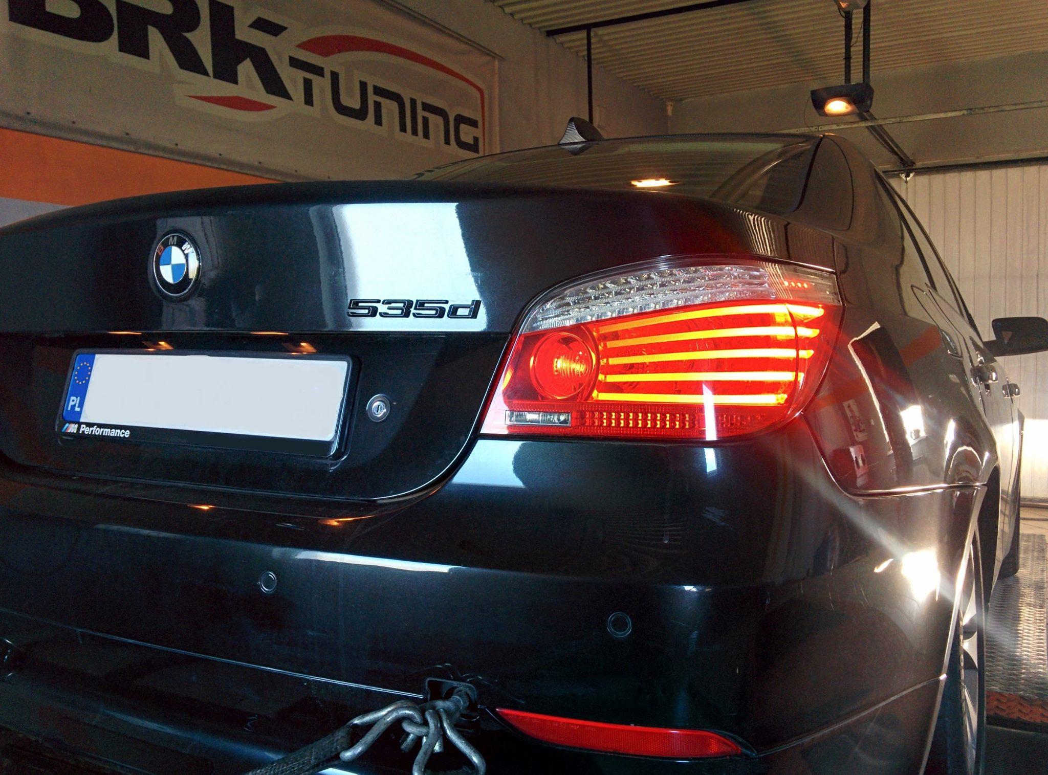BMW 535d - sprawdzamy przyrost mocy po zabiegu chiptuningu