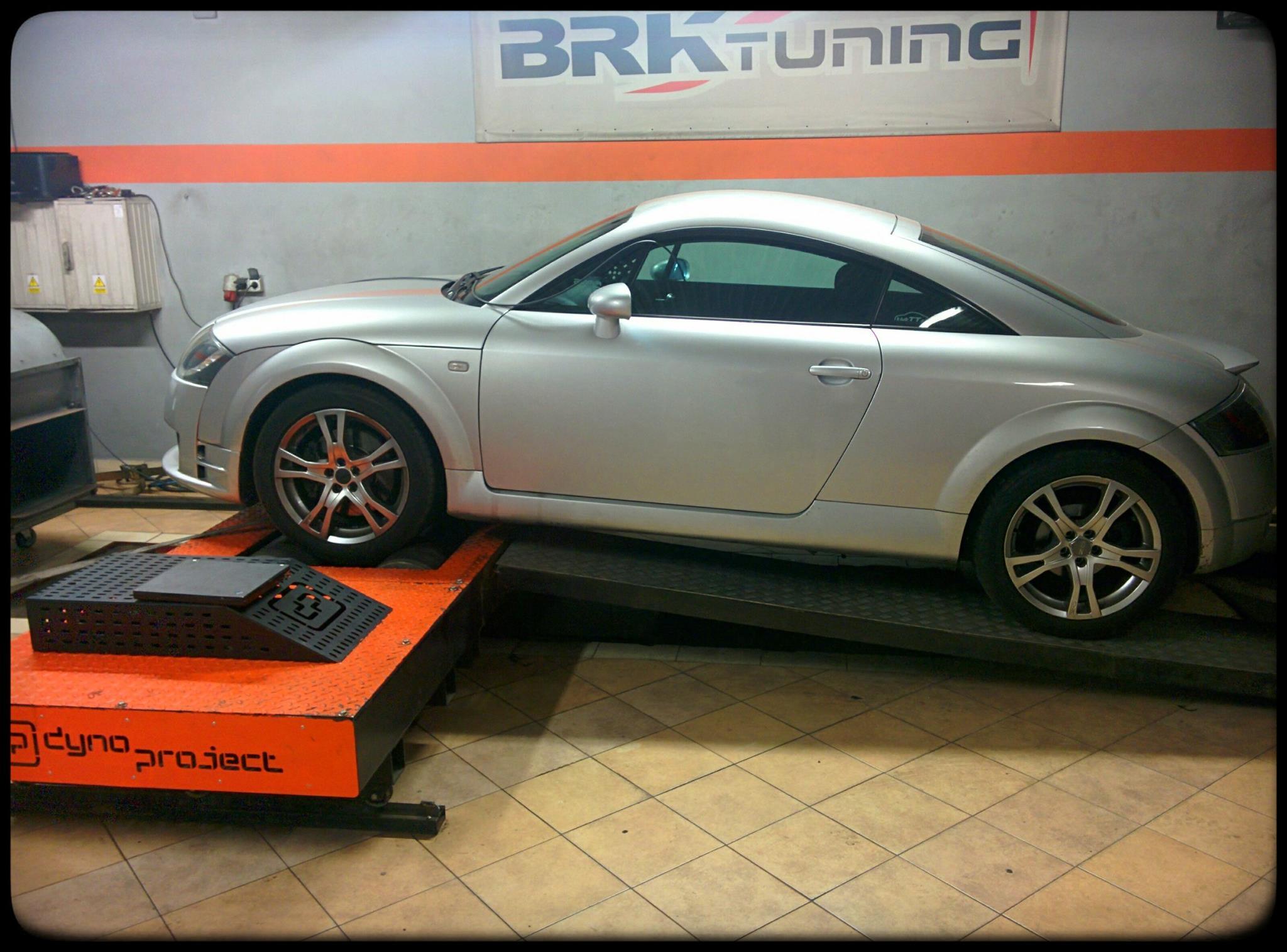 Audi TT - sprawdzamy przyrost mocy po zabiegu chiptuningu