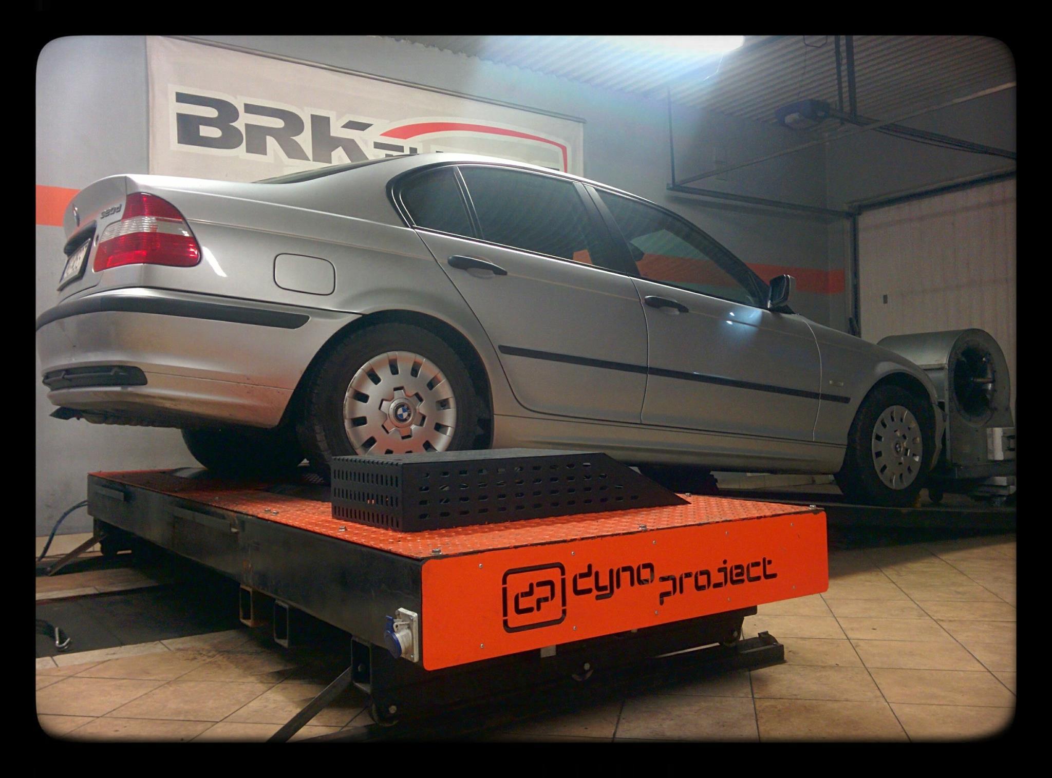 BMW E46 - diagnozujemy samochód na hamowni obciążeniowej