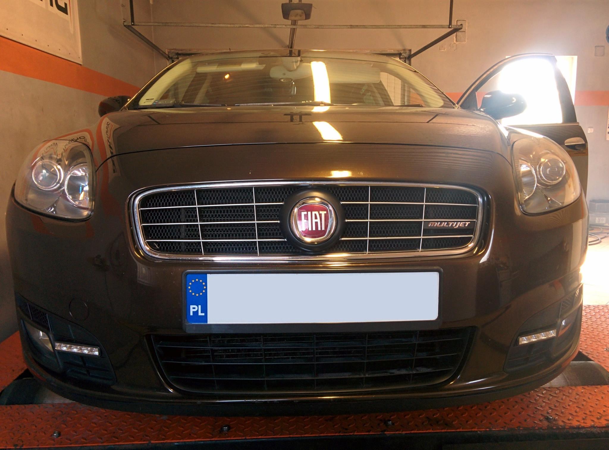Fiat Croma - sprawdzamy przyrost mocy po zabiegu chiptuningu