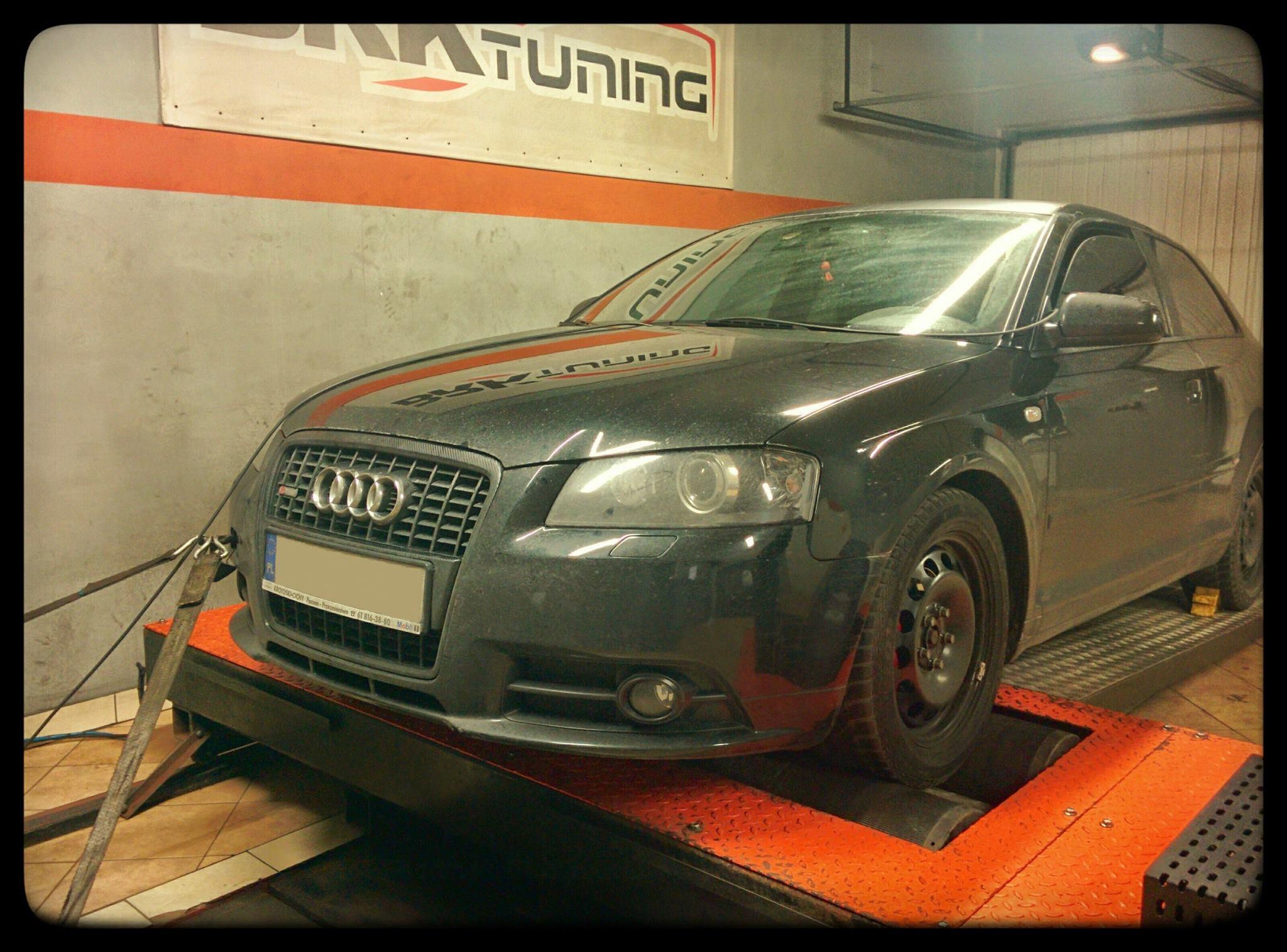 Audi A3 - sprawdzamy przyrost mocy po zabiegu chiptuningu
